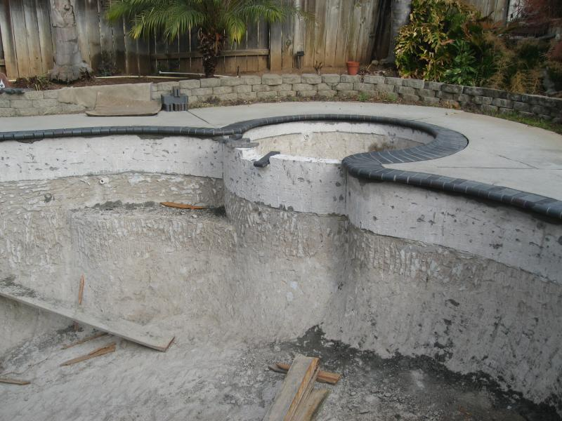 Before: Old Broken Down Pool