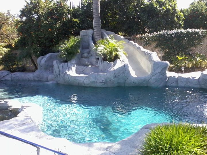 Swimming Pool Walls Amp Waterfalls Trinity Custom Pools