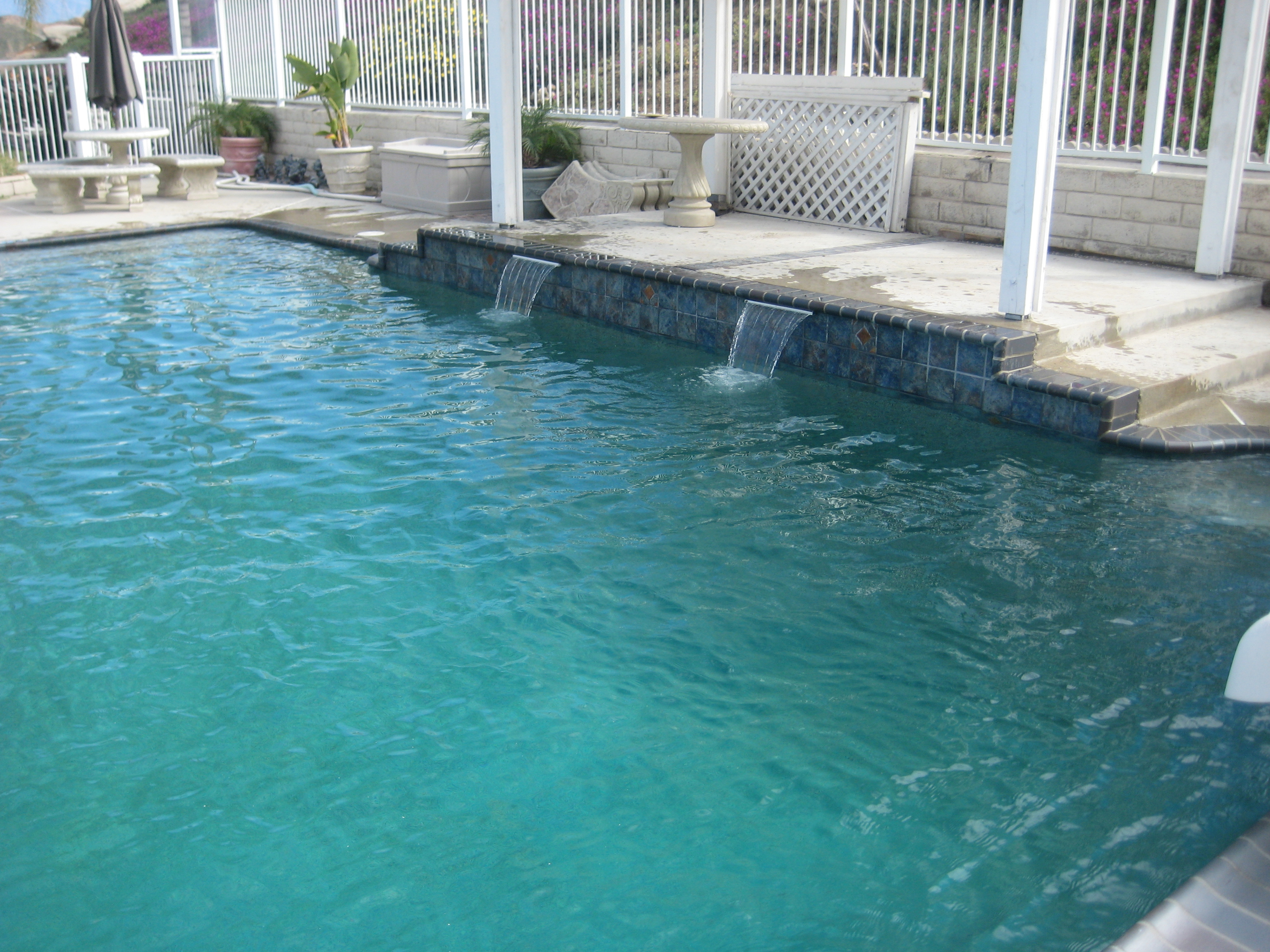 Trinity Custom Pools Stonescape Caribbean Blue Mini Pebble
