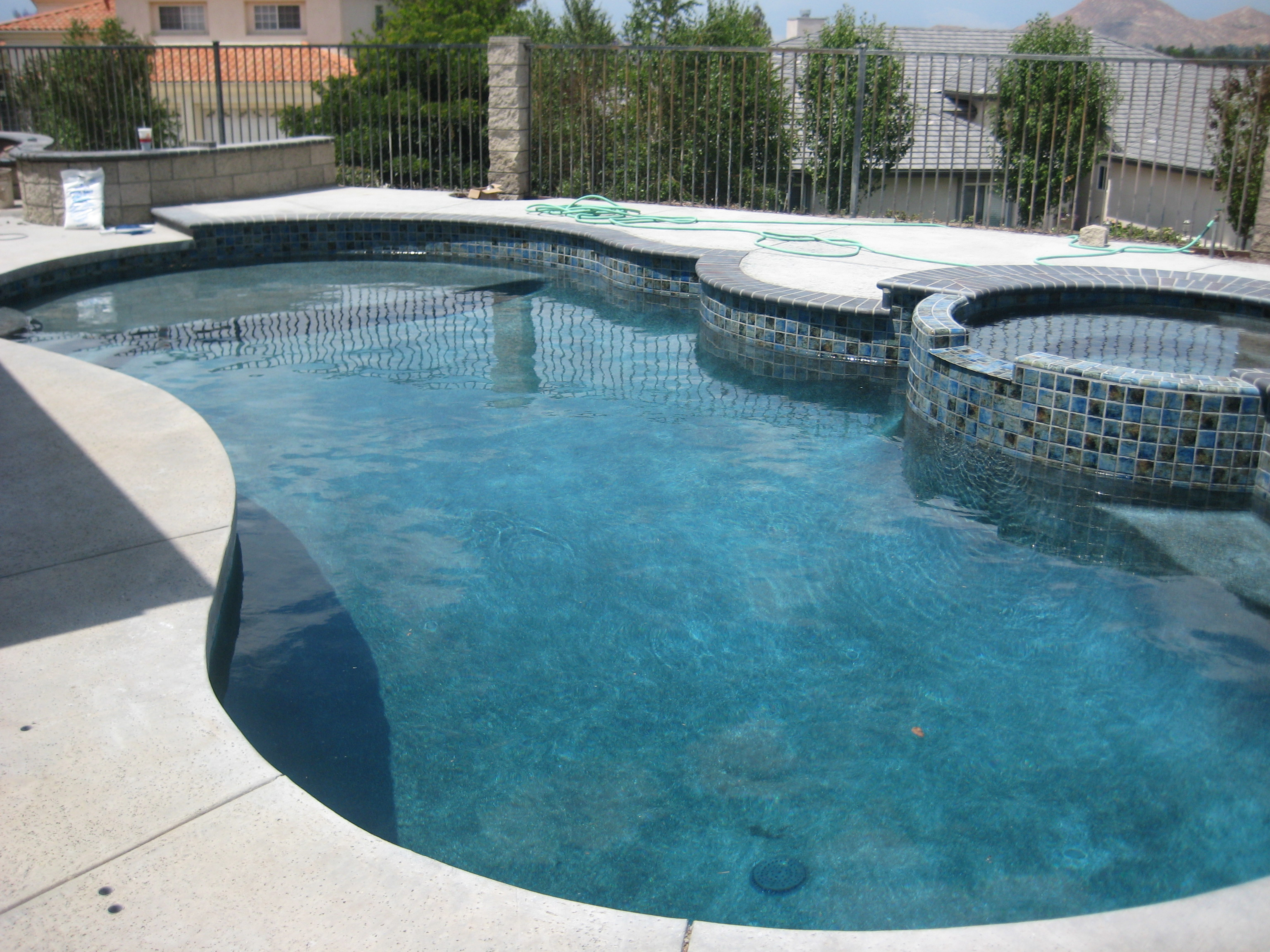 Trinity custom pools pool remodel for Pool redesign