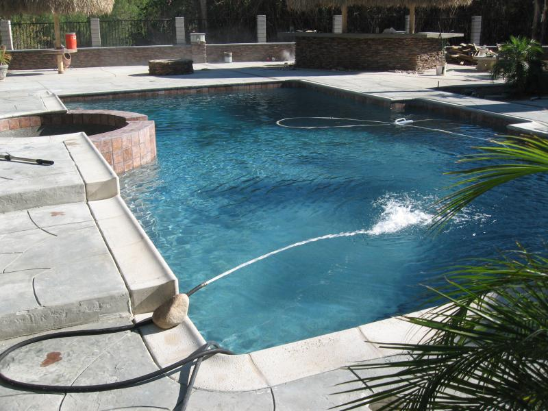 Trinity Custom Pools Stonescape Caribbean Blue